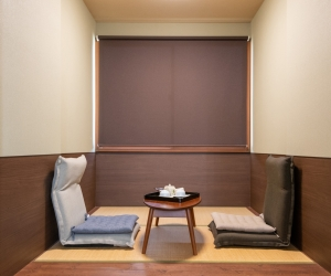 Japanese-European style room